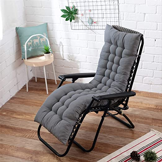 AINIYUE Cojín para Tumbona, cojín reclinable para Muebles de ...
