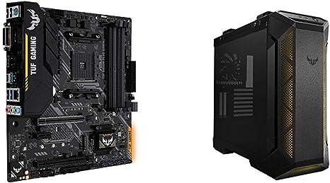 ASUS TUF B450M-PLUS Gaming + Caja TUF GT501 Cristal Templado: Amazon.es: Informática