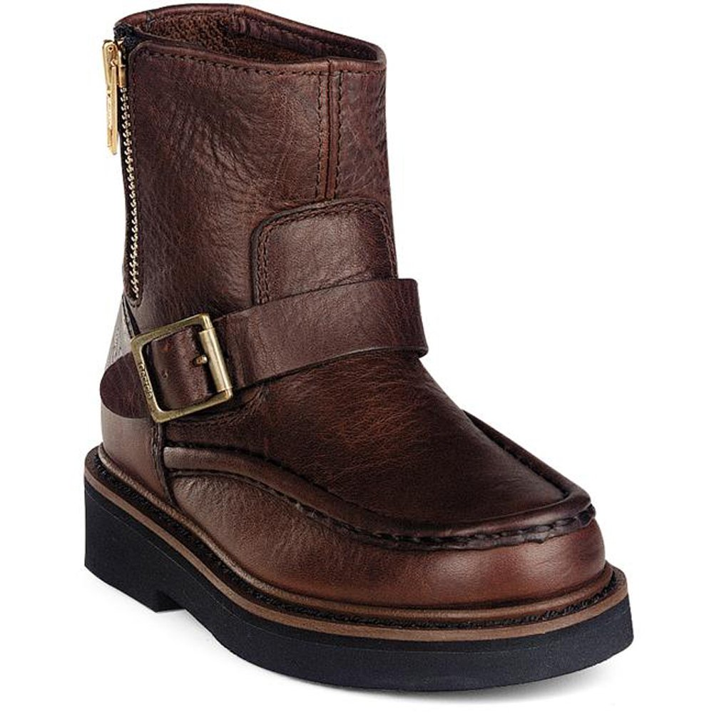 Georgia Boys Side-Zip Wellington Boot Round Toe G024