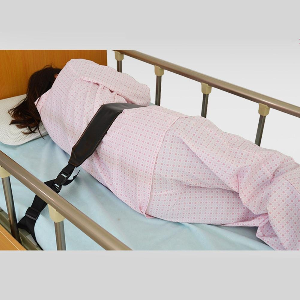 WE&ZHE Patient Bed Care Single Bed Fence Restraint Band With Anti-Fall Bed Strap Belt Belt Wheelchair Strap Adjustable Adjustable Lengthened