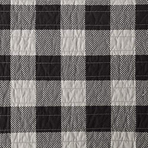 Woolrich Buffalo Check Full/Queen Size Quilt Bedding Set – Tan, Checker Plaid – 3 Piece Bedding Quilt Coverlets – 100% Cotton Bed Quilts Quilted Coverlet