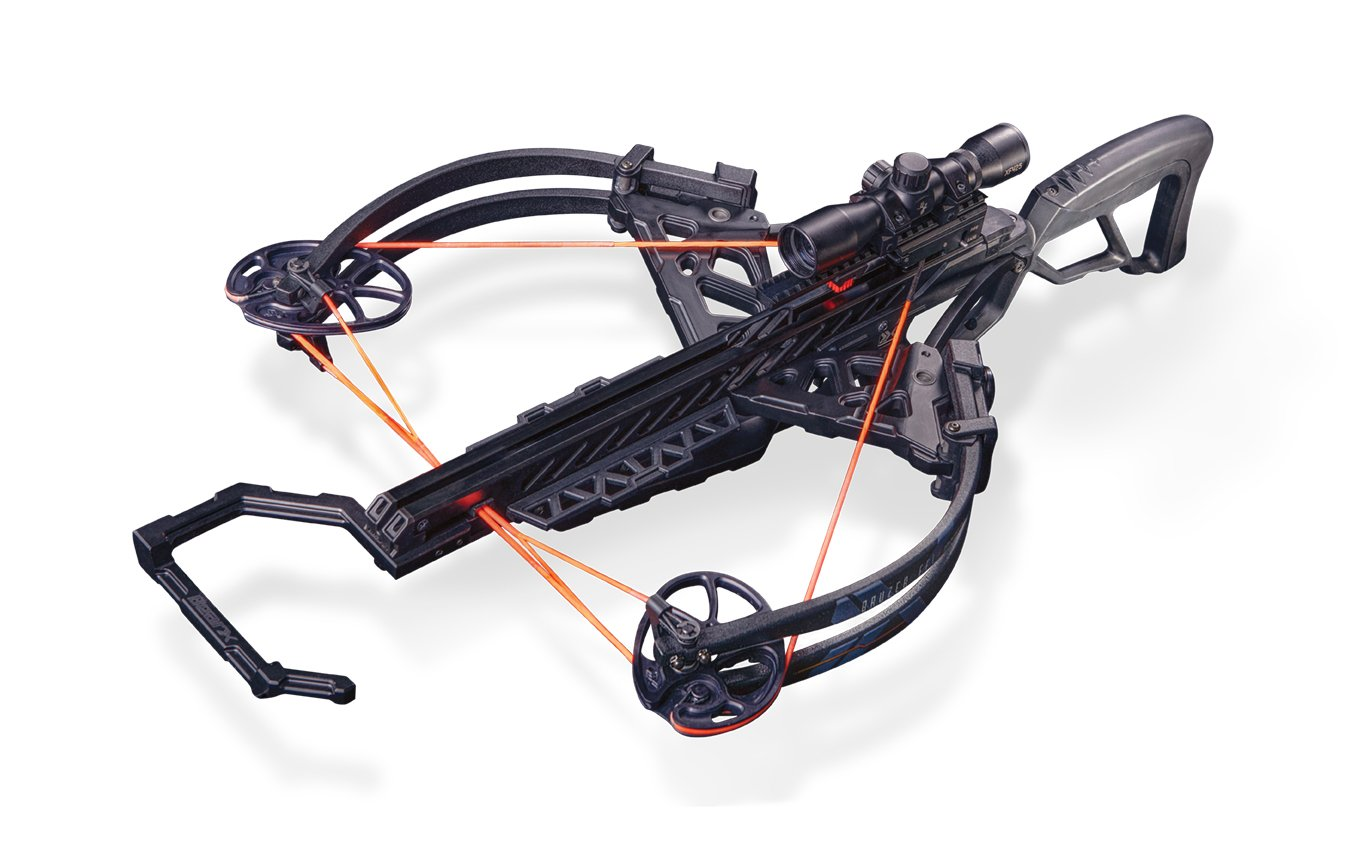 Bear X Crossbows Archery Bruzer FFL Crossbow Package, 34'', Black