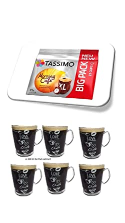 Tassimo Tassimo Morning Café Xl 21 Kaffee Kapseln Im Big Pack 1638 G Plus