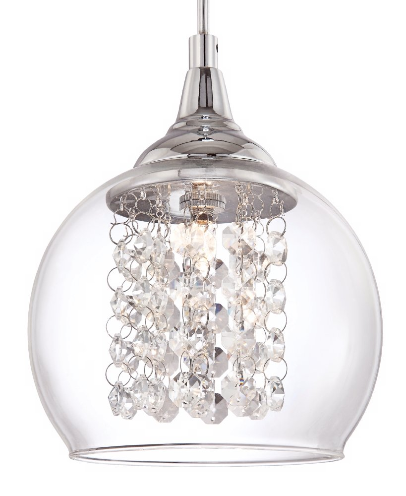 Possini euro encircled crystal 6 wide halogen mini pendant possini euro encircled crystal 6 wide halogen mini pendant chandeliers amazon arubaitofo Choice Image