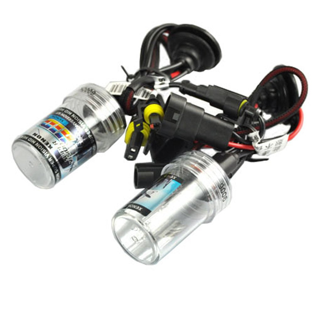 New Car Auto Headlight Lamp Bulbs 9006-8000K HID Xenon Replacement Light Bulbs 35W 12V Low-Xenon Beam Lights by Innovited (Image #2)