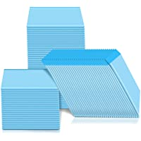 Mumoo Bear 100pcs Pet Pee Pads Disposable Absorbent Quick Drying Pads for Potty Training 45 x 33cm, blue