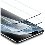 ESR Tempered-Glass Compatible for iPhone 11 Pro Screen Protector/iPhone Xs Screen Protector [No Side Bezel] [2-Pack…