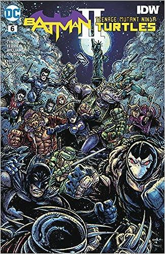 BATMAN TEENAGE MUTANT NINJA TURTLES II #3 (OF 6) VAR ED ...