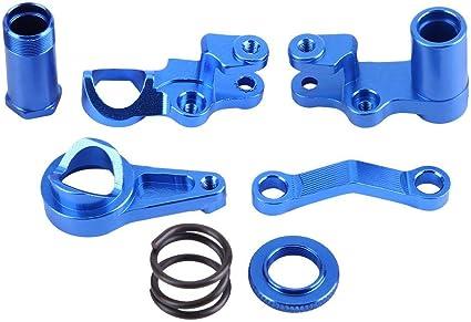Alloy Steering Servo Saver Complete Post Set 113712 For RC Car 1//10 HPI RS4