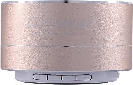 Rose Gold A10 Mini Super Bass Stereo Bluetooth Wireless Speaker smartphone