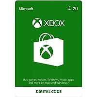Xbox Live £20 Credit [Xbox Live Online Code]