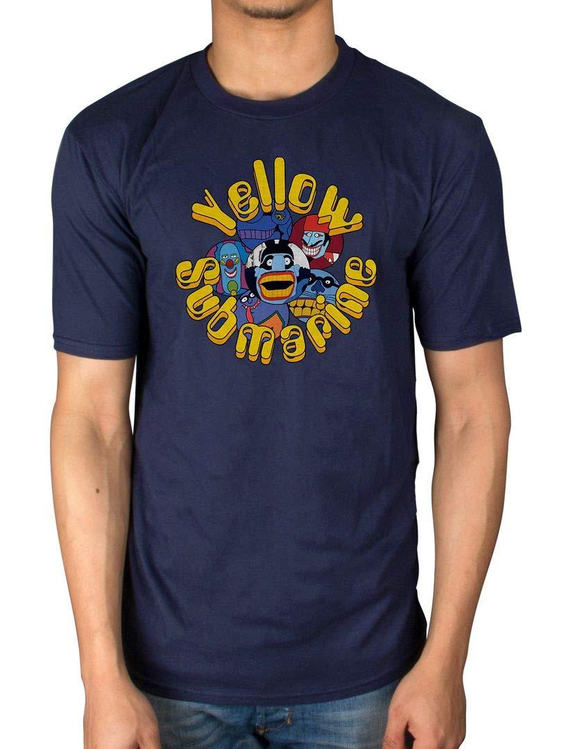 The Beatles Yellow Sub Stg Pepper Baddies T Shirt