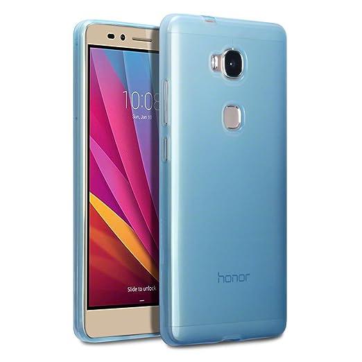 18 opinioni per Terrapin TPU Gel Custodia per Huawei Honor 5X Case, Colore: Blu