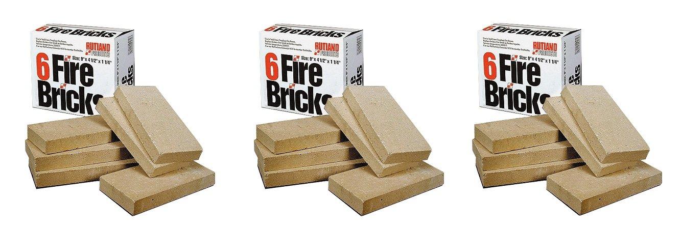 Rutland Products Fire Brick (3 PACK)