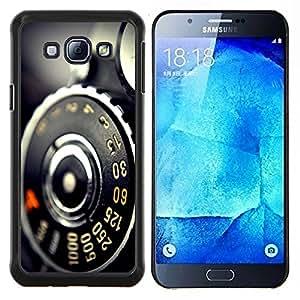 "Be-Star Único Patrón Plástico Duro Fundas Cover Cubre Hard Case Cover Para Samsung Galaxy A8 / SM-A800 ( Vintage Macro Cámara retra"" )"