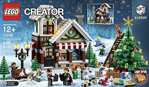 LEGO Creator (10249) Expert Winter Toy Shop (14 - 15 - Tree Lego Christmas Decorations