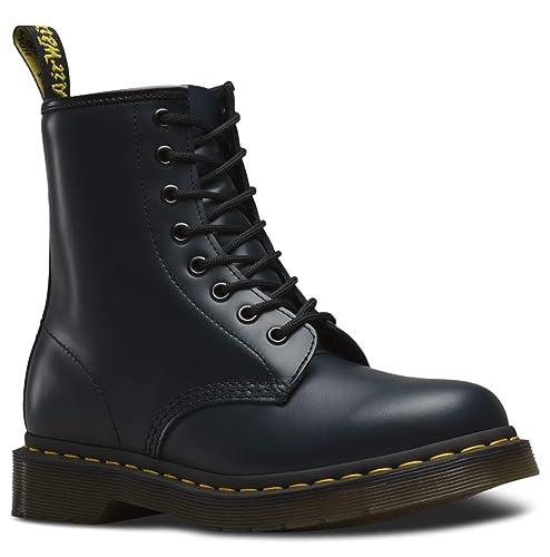oficjalne zdjęcia świetna jakość unikalny design Amazon.com | Women's 1460 Original 8-Eye Leather Boot ...