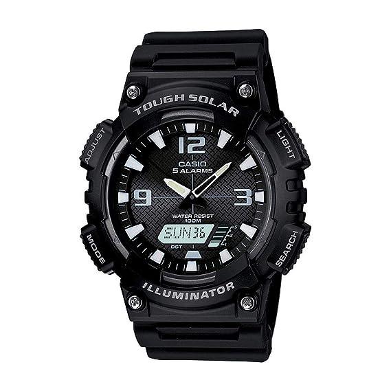 Casio Mens Solar Sport Combination Watch