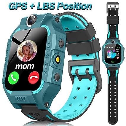 Amazon.com: Reloj inteligente para niños con GPS, pantalla ...