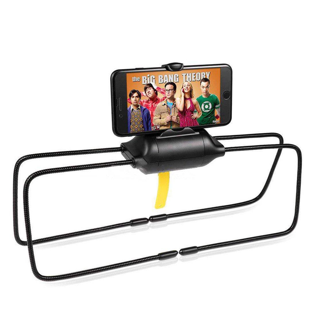 Cocina Soporte Flexible de Escritorio//Cama de Soporte de Tablet de ara/ña de piernas para el iPad y el iPhone Negro 360/Grados Universal Flexible para Cama sof/á Cuarto de ba/ño Oficina Coche