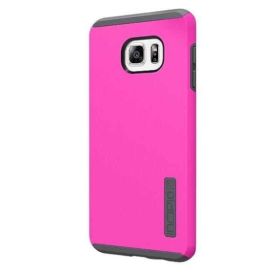 8b788f2b07d Incipio DualPro - Funda de Transporte para Samsung Galaxy S6 Edge, Rosado y  Gris: Amazon.com.mx: Electrónicos