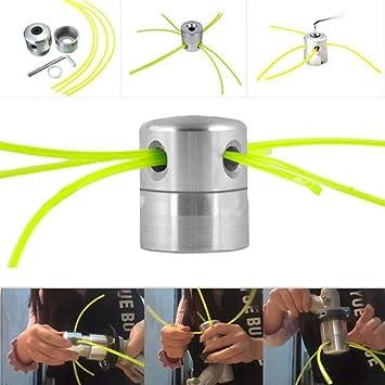 Wankd - Cabezal universal de aluminio para desbrozadora de ...
