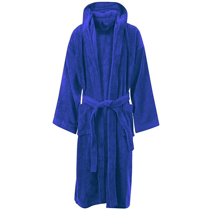 Myshoestore LUXURY EGYPTIAN COTTON TOWELLING BATH ROBE DRESSING GOWN ...