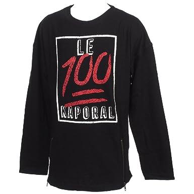 183857a26 Kaporal 5 - Nent Black ML Tee jr - Tee Shirt Manches Longues - Noir ...
