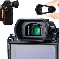 Soft Silicon Camera Viewfinder Eyecup Eyepiece for Sony Sony A7RIV A7RIII A7RII A7III A7II A7 A7R A7S A7SII A9II A9 A58 A99II Eye Cup Replaces Sony FDA-EP18 FDA-EP16 FDA-EP15