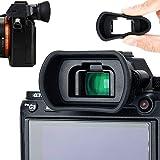 Soft Silicon Camera Viewfinder Eyecup Eyepiece Eyeshade for Sony A7RIV A7RIII A7III A7SII A7RII A7II A7S A7R A7 A9II A9 A58 A