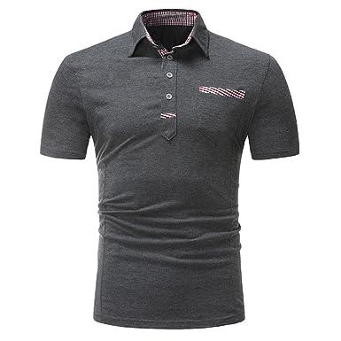 efc157951dd0fd T-Shirts,Honestyi 2018 Neueste Modell Herren Poloshirt Kurzarm Klassisches  Basic T-Shir