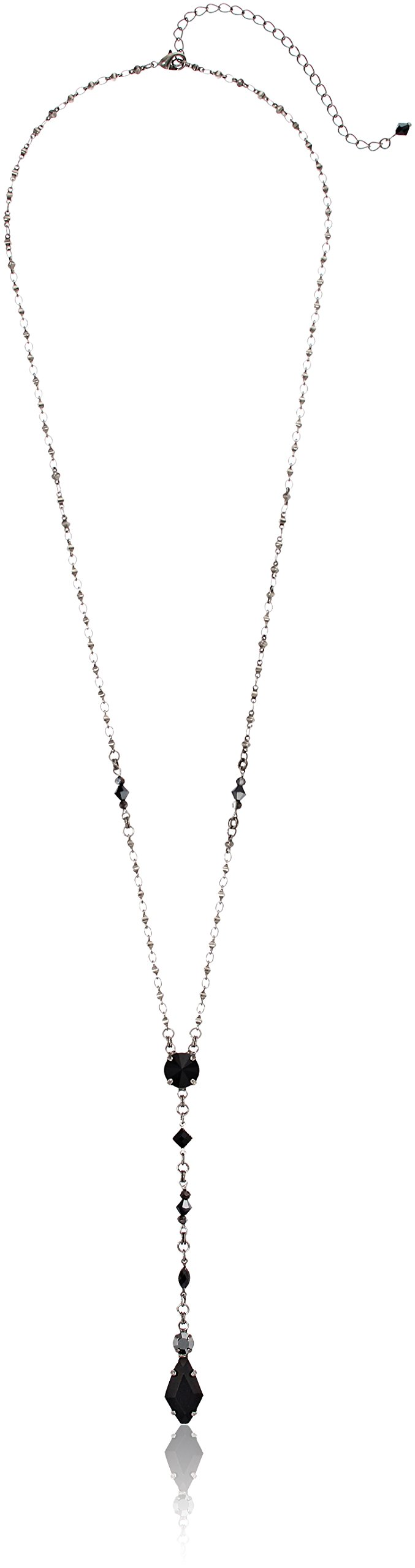Sorrelli Delicate Y-shaped Necklace, 28'' + 5'' Extender by Sorelli