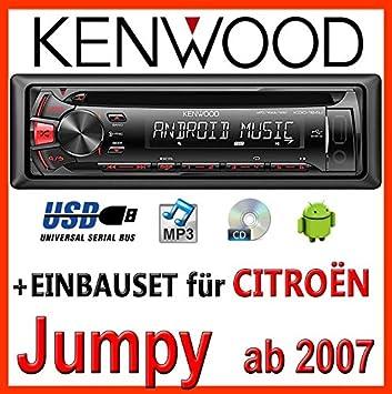 Autoradio ISO connecteur CITROEN JUMPY 1996-2007