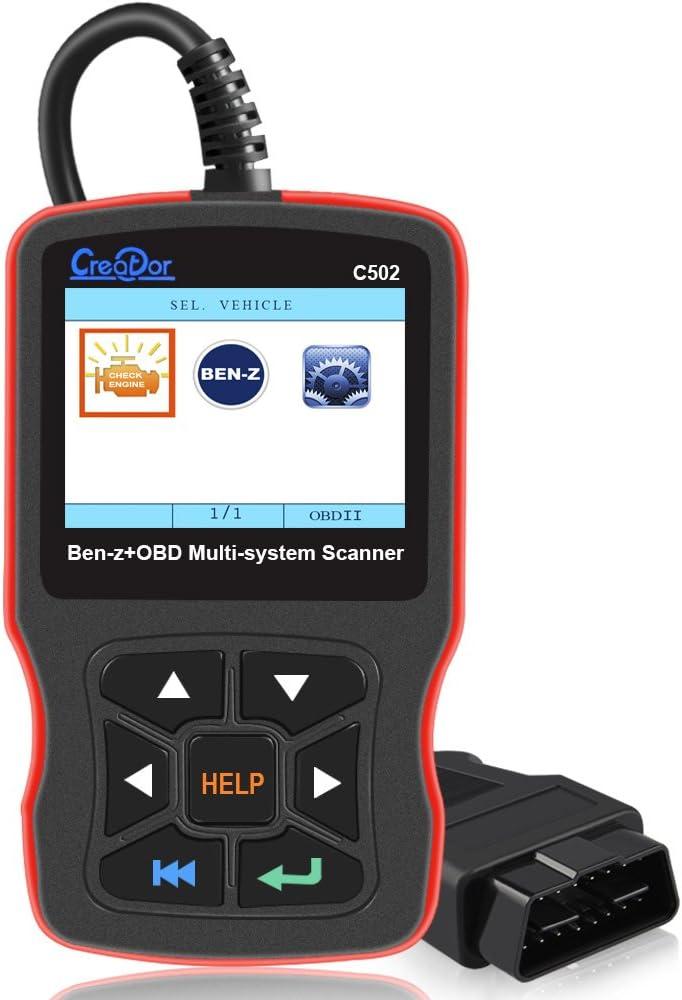 Creator C502 Obdii Diagnosegerät Für Mercedes Benz Und Smart Auto