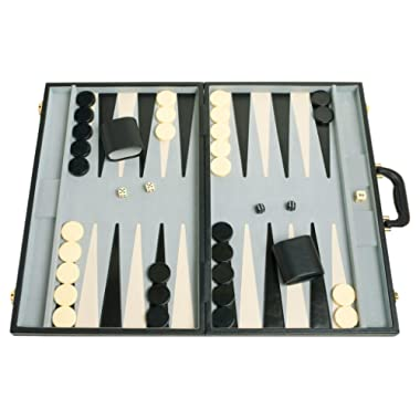 Middleton Games 21  Classic Tournament Backgammon Set - Black Board