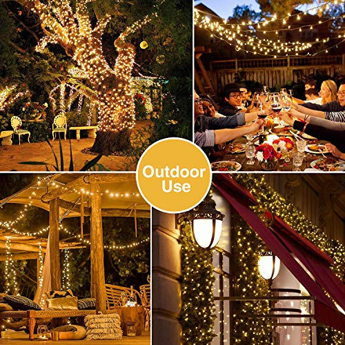 1000 Christmas Lights Outdoor Led Fairy String Wall Light Wedding Party Plug in
