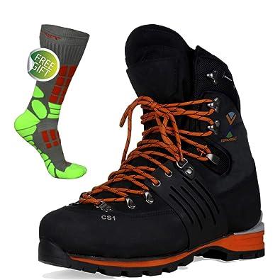 7b50ec86007d53 TEFANESO Chaussures de Montagne Homme Alpinisme Randonnée Marche Escalade  Trekking Hiver Outdoor Waterproof Confortable - Dessinée