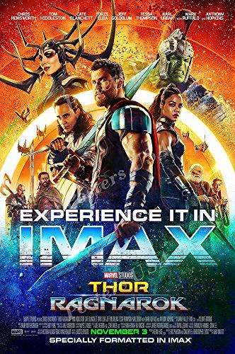 Posters USA Marvel Thor Ragnarok Movie Poster GLOSSY FINISH