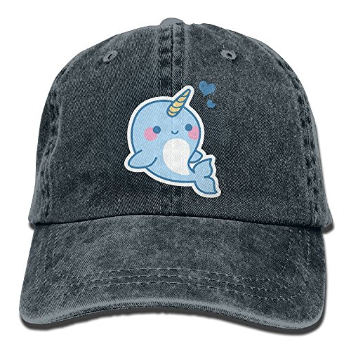 Hainingshihongyu Cute Sea Unicorns Love Baseball Caps Adult Sport Cowboy Trucker Hats Adjustable - Orleans New Lakeside