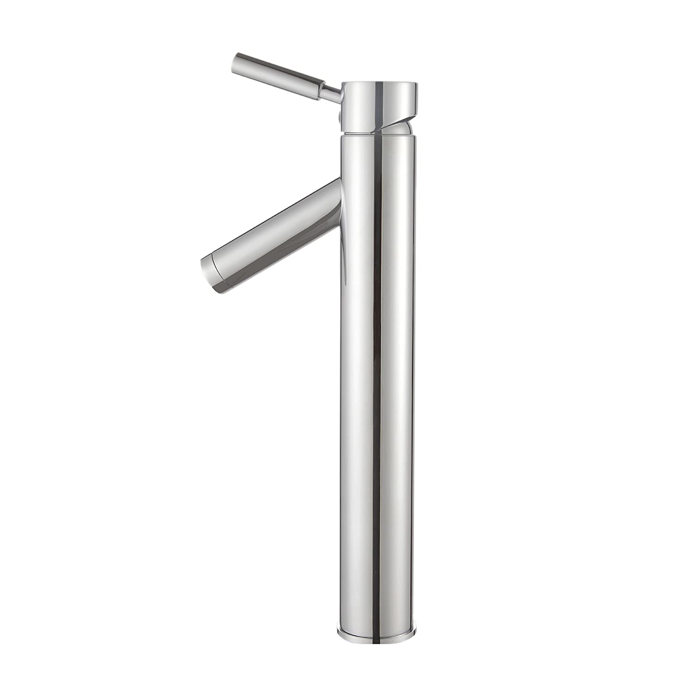 Kraus FVS-1002CH Sheven Single Lever Vessel Bathroom Faucet Chrome ...