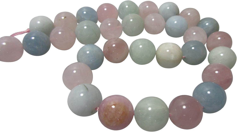 Natur Multi-Beryll Morganit  Edelstein 925//Silber Kette  oder  Armband
