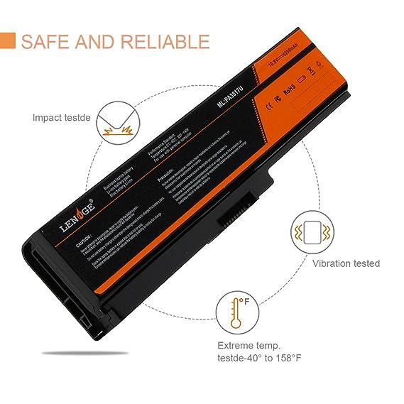 LENOGE 6-Cell batería del ordenador portátil para Toshiba PA3817u-1BAS PA3817u-1BRS PA3818u PA3819u PA3816U-1BRS PA3816U-1BAS Toshiba Satellite C655 L600 ...