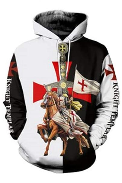Amazon.com: Sudadera con capucha para hombre, diseño de ...