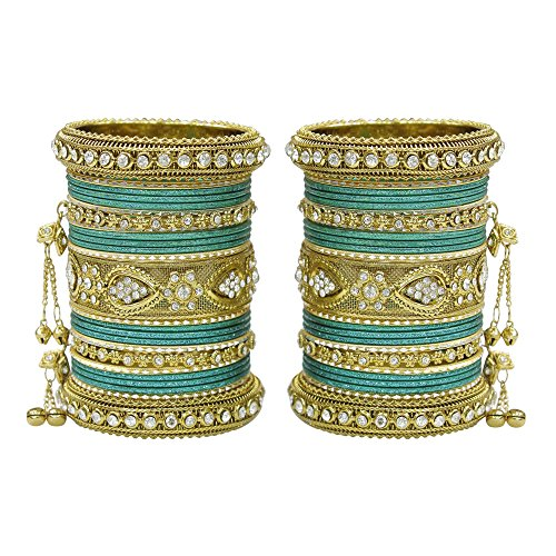 Amazing Jewelry (MUCH-MORE Women Amazing Traditional Fashion Multi Color Bangles Indian Party wear Jewelry (Radium, 2.8))