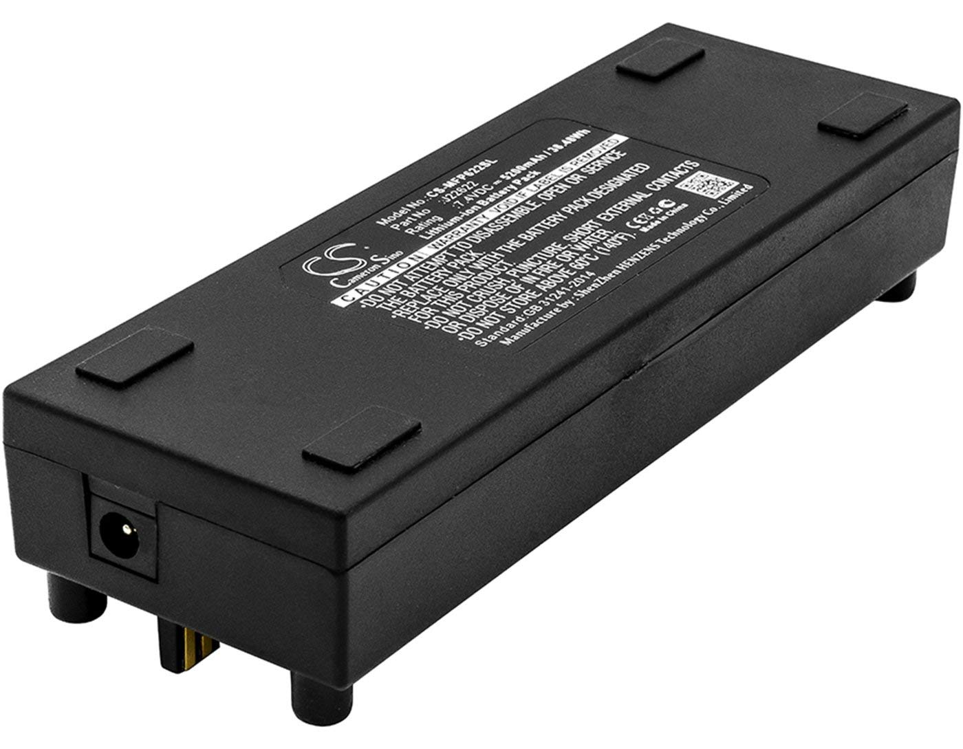 VINTRONS, Mackie J22622 Replacement Battery for Mackie FreePlay, FreePlay Portable PA System,