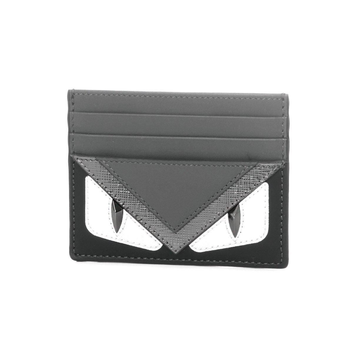 フェンディ(FENDI) カードケース 7M0164 8FJ F06HP バッグ バグズ アイ グレー系 [並行輸入品] B01NAG5IKQ