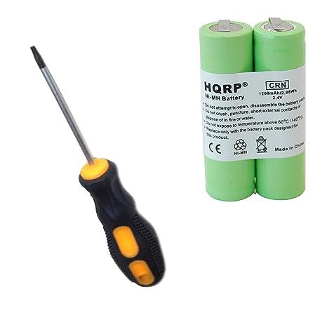 HQRP Batería para Philips Norelco 8825XL   8845XL   8846XL   HQ8885   7735X    885RX 426056bbb2af