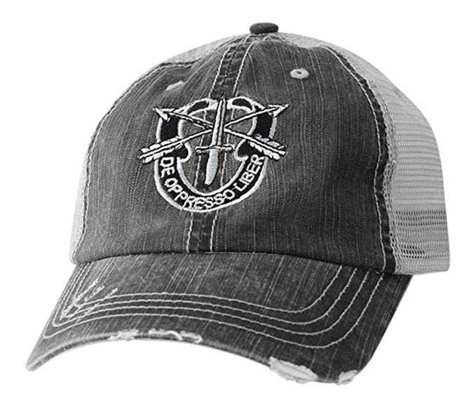 0dba76acac16e5 Image Unavailable. Image not available for. Color: Mitchell Proffitt  Special Forces Hat-Distressed ...