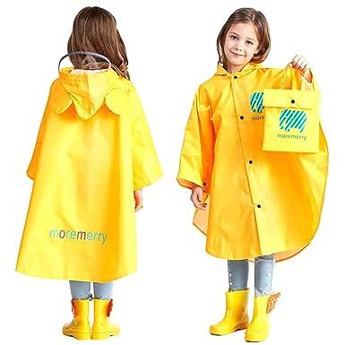 8d740b858f853 Poncho Pluie à Capuche Bébé Fille Garçon Dessin Animal Mignon Veste  imperméable Manteau de pluie Enfant