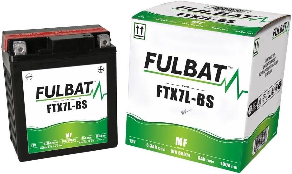 FTX7L-BS Scomadi TL50 TL200 Wartungsfreie AGM MF Fulbat Batterie TL 125